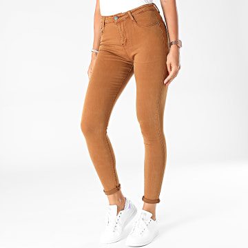 Girls Outfit - Jean Skinny Femme A200 Camel