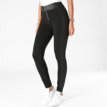 Girls Outfit - Pantalon Skinny Femme C9116 Noir