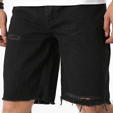 GRJ Denim - Short Jean 14964 Noir