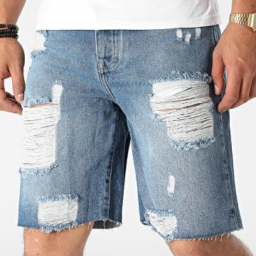 GRJ Denim - Short Jean 14927 Bleu Denim