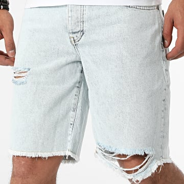 GRJ Denim - Short Jean 14963 Bleu Wash