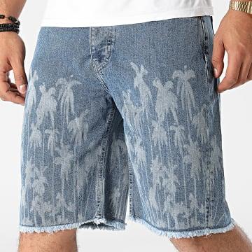 GRJ Denim - Short Jean 14910 Bleu Denim