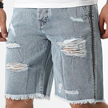 GRJ Denim - Short Jean 14909 Bleu Denim
