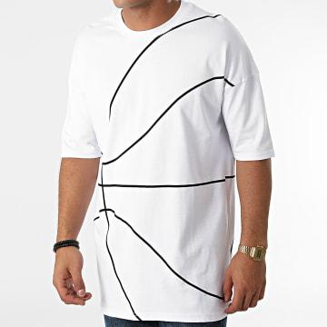Ikao - Tee Shirt Oversize LL472 Blanc