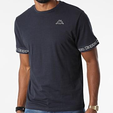 Kappa - Tee Shirt Logo Itop 321646W Bleu Marine