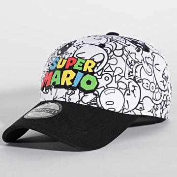 Super Mario - Casquette Super Mario Blanc