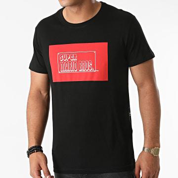 Super Mario - Tee Shirt 8Bit Noir