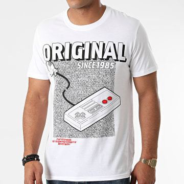 Nintendo - Tee Shirt NES The Original Blanc
