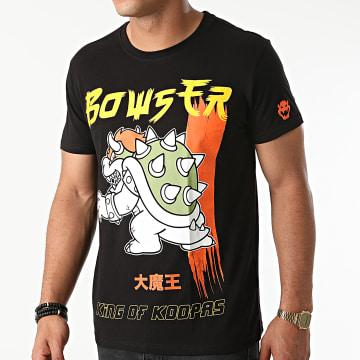 Super Mario - Tee Shirt King Koopa Noir