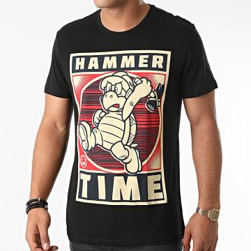 Super Mario - Tee Shirt Hammertime Noir