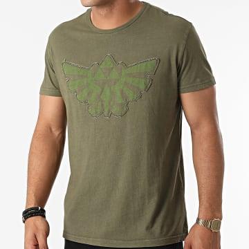 Zelda - Tee Shirt Stitched Hyrule Vert Kaki