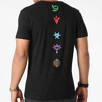 Zelda - Tee Shirt Symbols Noir