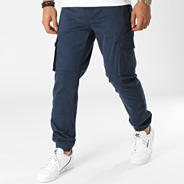 Only And Sons - Jogger Pant Cam Stage Cargo Bleu Marine