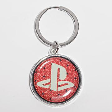 Playstation - Porte-clés Logo Rouge