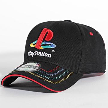 Playstation - Casquette Logo Noir