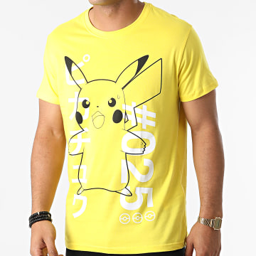 Pokémon - Tee Shirt Shocked Pika Jaune