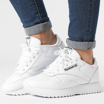 Reebok - Baskets Femme Classic Leather Ripple GX5092 Footwear White