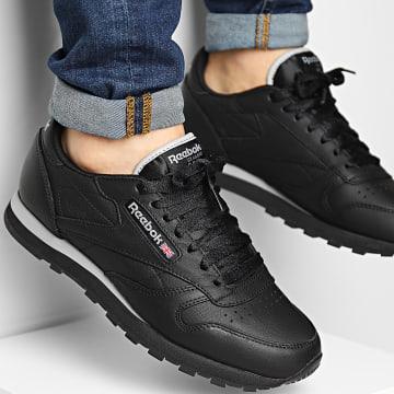 Reebok - Baskets Classic Leather GZ9940 Core Black Pure Grey 4