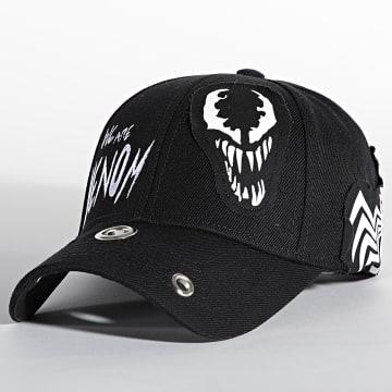 Spiderman - Casquette Venom Noir