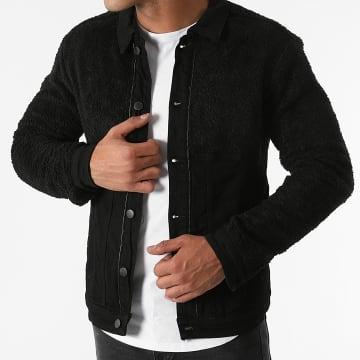 Black Industry - Veste Jean 5925 Noir