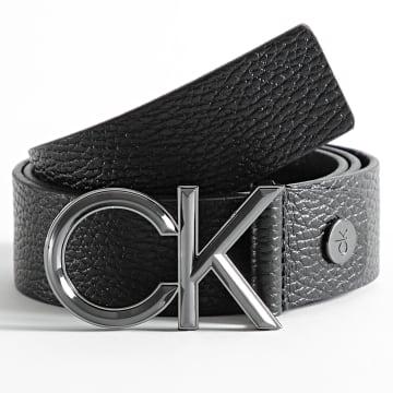 Calvin Klein - Ceinture Adjustable Spiked Metal 7558 Noir