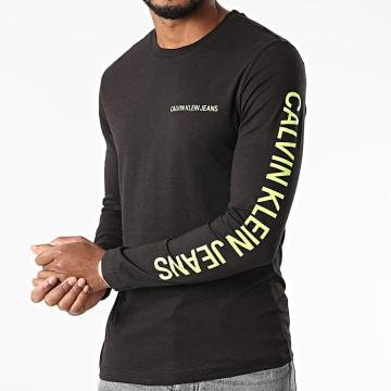 Calvin Klein - Tee Shirt Manches Longues 6884 Noir