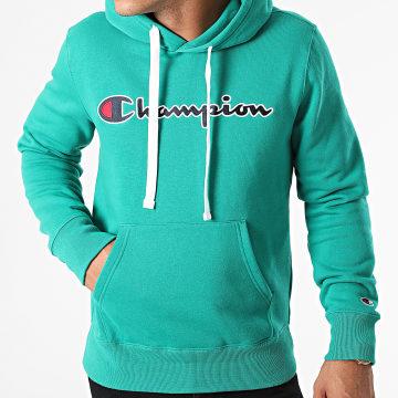 Champion - Sweat Capuche 216470 Vert