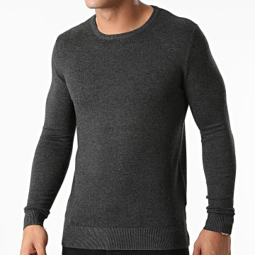 KZR - Pull LD-69006 Gris Anthracite Chiné