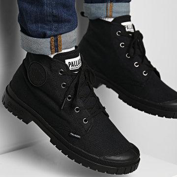 Palladium - Boots Sport 20 Hi Canvas 76838 Black Black
