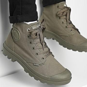 Palladium - Boots Pampa Hi Mono Chrome 73089 Olive Night