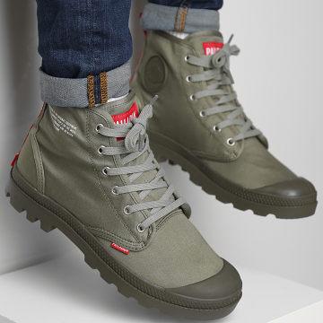 Palladium - Boots Pampa Hi Dare 76258 Olive Night
