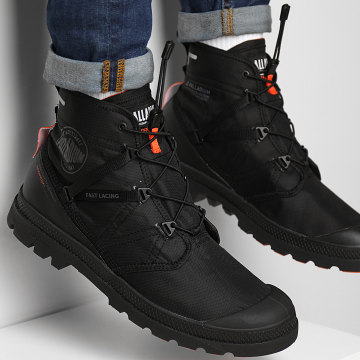 Palladium - Boots Pampa Travel Lite Waterproof 77238 Black Black