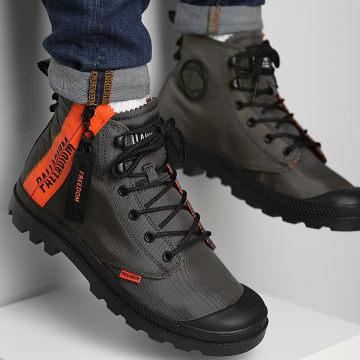 Palladium - Boots Pampa Unlocked 77239 Olive Night