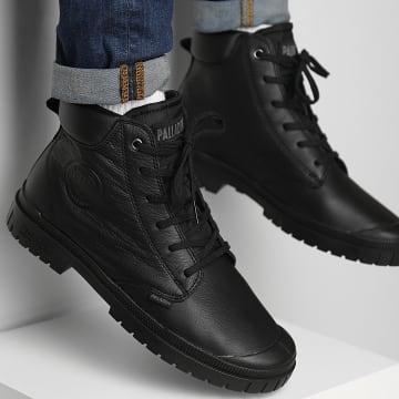 Palladium - Boots Pampa SP20 Cuff Leather 77236 Black Black