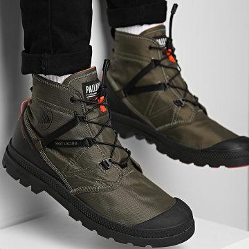 Palladium - Boots Pampa Travel Lite Waterproof 77238 Olive Night