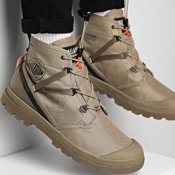 Palladium - Boots Pampa Travel Lite Waterproof 77238 Dune