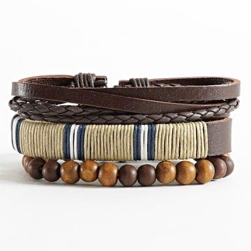 Deeluxe - Bracelet Authentic Marron