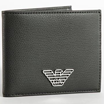 Emporio Armani - Porte-cartes Y4R168-YLA0E Noir