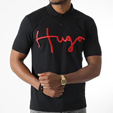 HUGO - Polo Manches Courtes 50456178 Noir