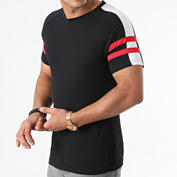LBO - Tee Shirt Tricolore 1903 Noir Rouge Blanc