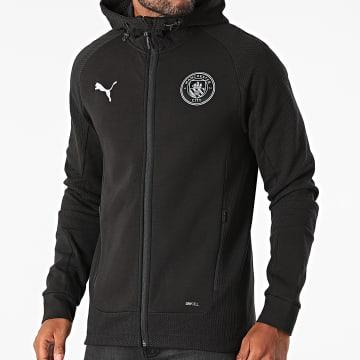 Puma - Veste Zippée Capuche Manchester City 764498 Noir
