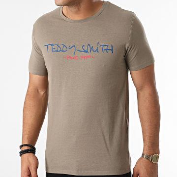 Teddy Smith - Tee Shirt Ticlass Basic Vert Kaki