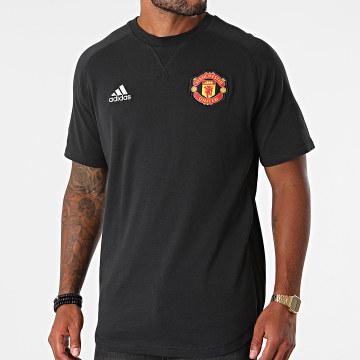 adidas - Tee Shirt Oversize Manchester United GR3908 Noir