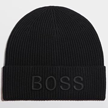 BOSS - Bonnet 50444424 Noir