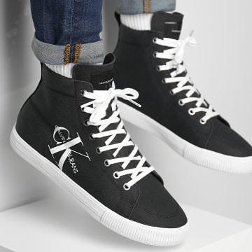 Calvin Klein - Baskets Vulcanized Mid Lace Up 0275 Black