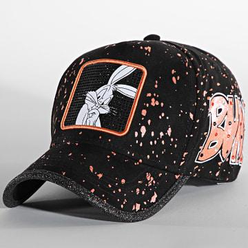 Capslab - Casquette Bugs Bunny Noir Rouge