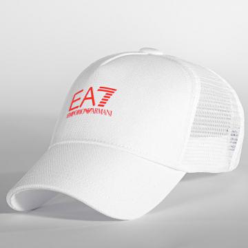 EA7 Emporio Armani - Casquette Trucker Tennis Pro 245020 Blanc