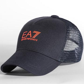EA7 Emporio Armani - Casquette Trucker Tennis Pro 245020 Bleu Marine