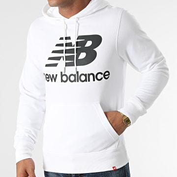 New Balance - Sweat Capuche MT03558 Blanc