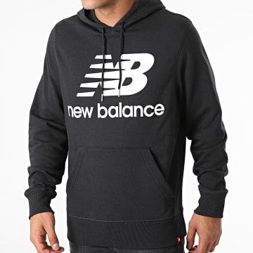 New Balance - Sweat Capuche MT03558 Noir